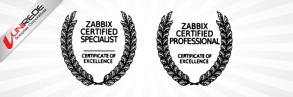 certificação zabbix