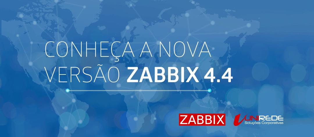 Lançamento do Zabbix 4.4