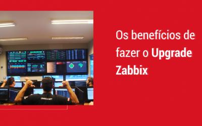 Benefícios de fazer o Upgrade Zabbix