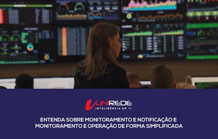 monitoramento e operação
